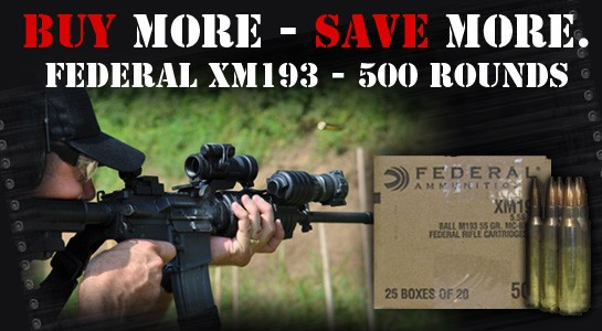 Federal 223 ammo on sale now