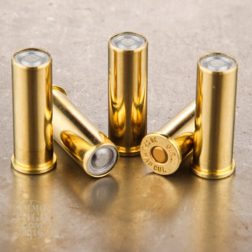 38 Special Ammo - 50 Rounds of 148 Grain Lead Wadcutter by Fiocchi
