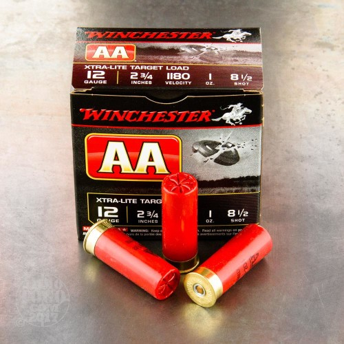 12 gauge ammo 25 rounds of 1 oz 8 1 2 shot by winchester for 12 ga recoil table