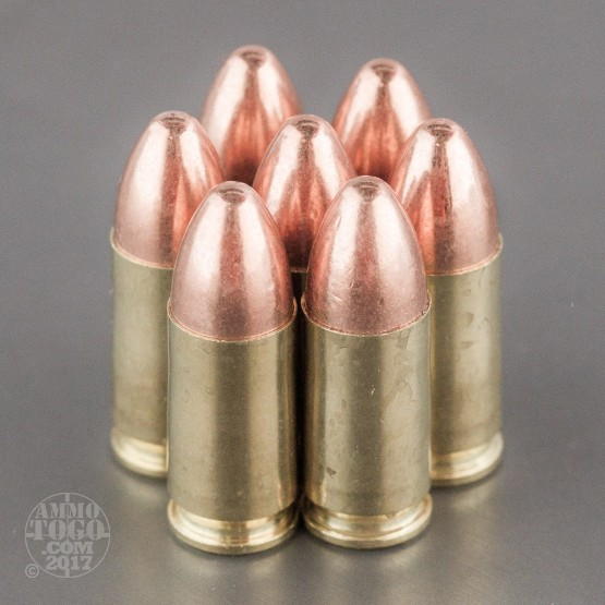 500rds - 9mm Ultramax 115gr. FMJ Ammo