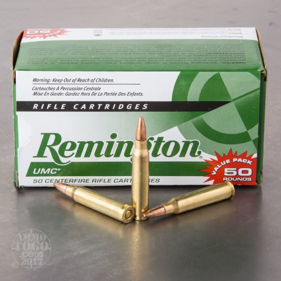 50rds - .223 Remington UMC 55gr. FMJ Ammo