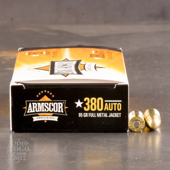Armscor 380 Auto 95 Grain FMJ - 1000 Rounds