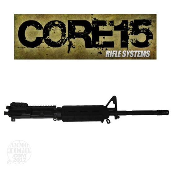 "1 - Core 15 .223/5.56 NATO M4 MOE 16"" Barrel Twist 1x7 Complete Upper"