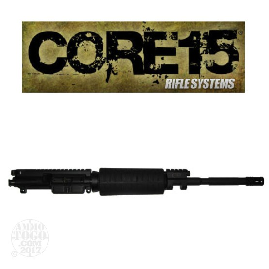"1 - Core 15 .223/5.56 NATO M4 Piston 16"" Barrel Twist 1x7 Complete Upper"
