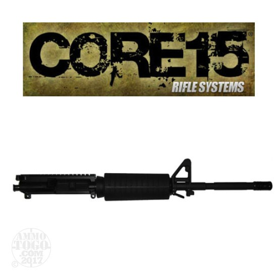 "1 - Core 15 .223/5.56 NATO M4 16"" Barrel Twist 1x7 Complete Upper"