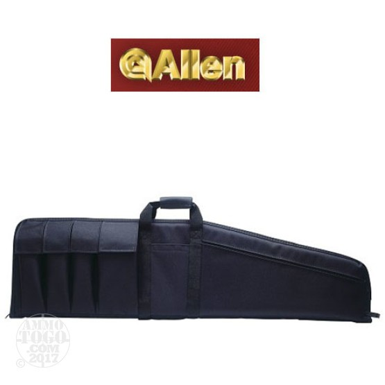 "1 - Allen 42"" Assault Rifle Case Six Pocket Black"