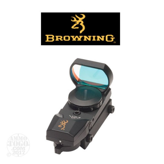 1 - Browning Buck Mark Reflex 4 Reticle Optic Sight Matte Black