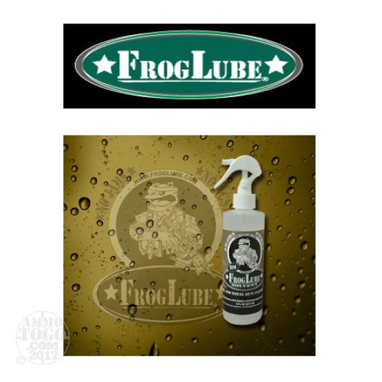 1 - FrogLube Solvent 8oz. Clean Bore and Total Gun Cleaning Product