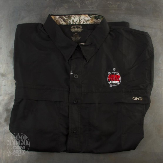 1 - GameGuard Caviar MicroFiber Shirt (2X-Large) With Ammo To Go Logo