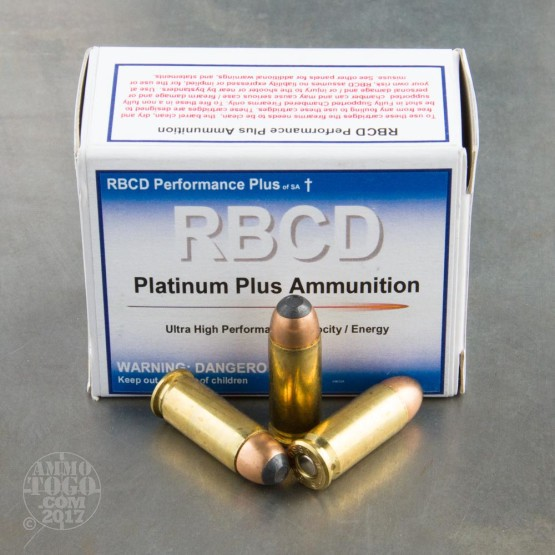 20rds - 38 Super Auto RBCD Performance Plus 60gr. Total Fragmenting Soft Point Ammo