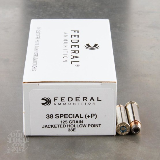1000rds - 38 Special Federal LE Hi-Shok 125gr. +P Hollow Point