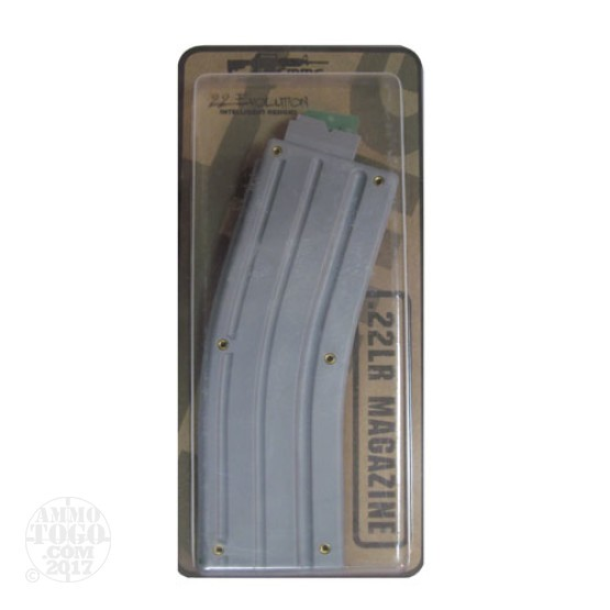 1 - CMMG ARC-22 - 25rd .22LR Magazine - Gray