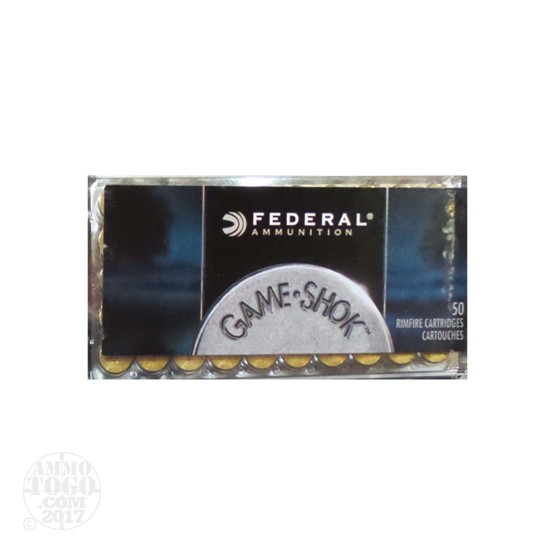 500rds - 22 Mag Federal Game-Shok 50gr. Hollow Point Ammo