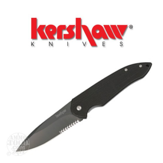 1 - Kershaw Scamp Serrated Folding Pocket Knife