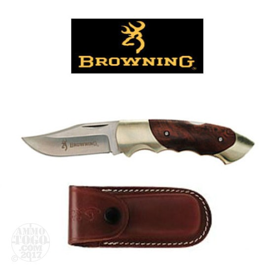 1 - Browning Model 111 Lockback Folding Knife