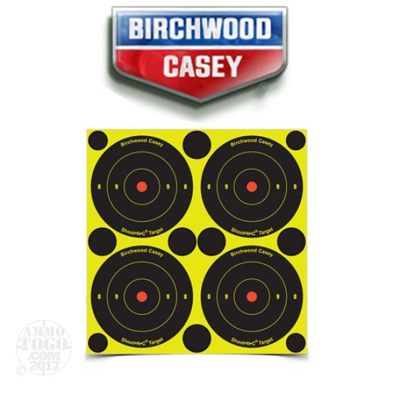 "1 - Birchwood Casey Shoot N C Target 3"" Bullseye 48 Pack"