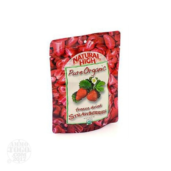 1 - Natural High Organic Strawberry Dried Fruit Snack