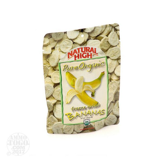1 - Natural High Organic Bananas Dried Fruit Snack