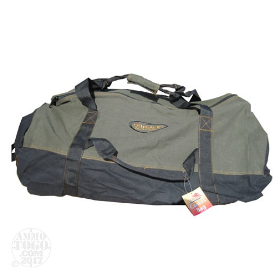 "1 - Outback Australia Canvas Bag 36"" x 20"" Olive Drab/Black"