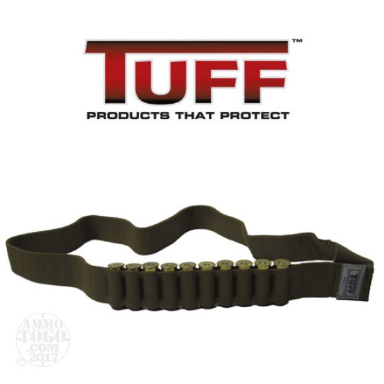 1 - Tuff Products Shotshell Bandoleer Coyote Brown