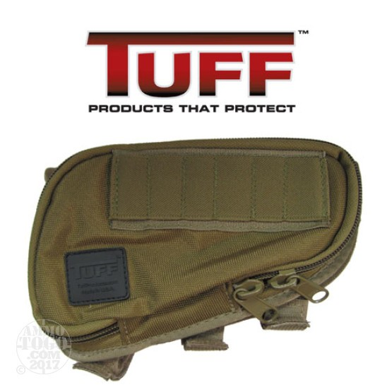 1 - Tuff Products Butt Stock Saddle 223 Coyote Brown