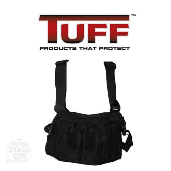 1 - Tuff Active Shooters AR-15/M4 Chest Rig Black Nylon