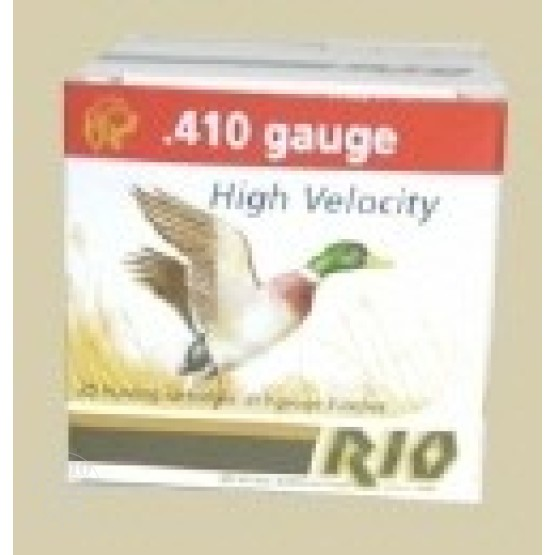 "25rds - .410 Gauge Rio 3"" Heavy Field #6 Shotshell"