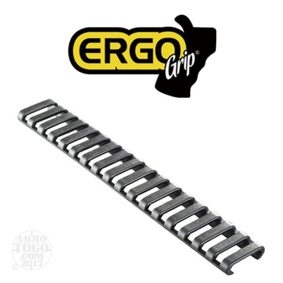 1 - Ergo Grips 18 Slot Ladder Low Profile Rail Covers 3 Pack Black