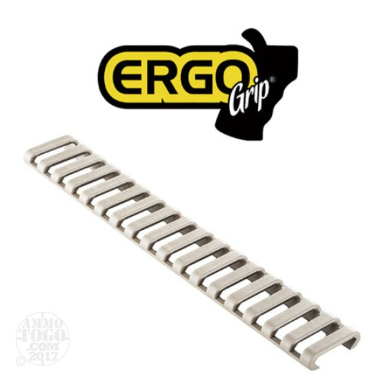 1 - Ergo Grips 18 Slot Ladder Low Profile Rail Covers 3 Pack Dark Earth