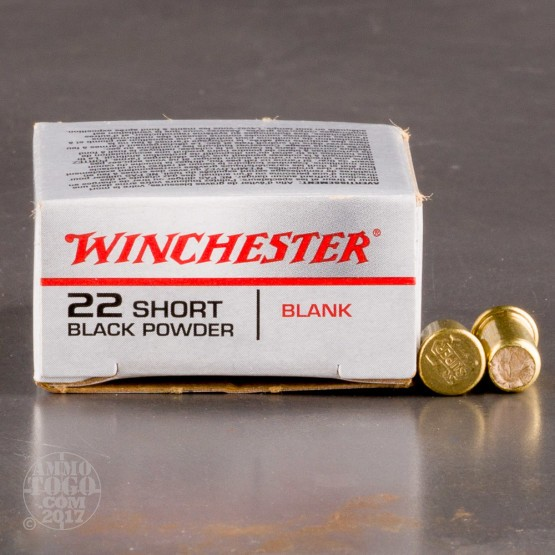 1000rds - 22 Short Winchester Black Powder Blanks