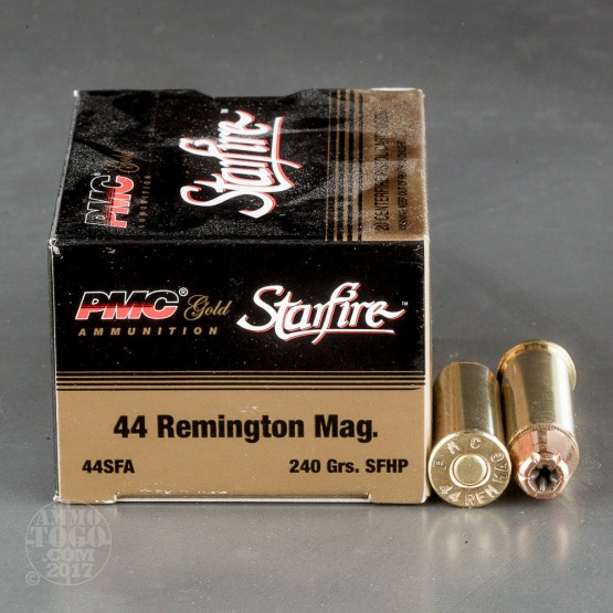 20rds - 44 Mag PMC Starfire 240gr. Hollow Point Ammo