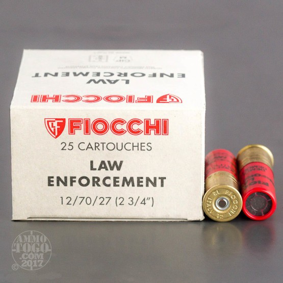 250rds - 12 Gauge Fiocchi Demolition Door/Lock Breaching Ammo 2 3/4