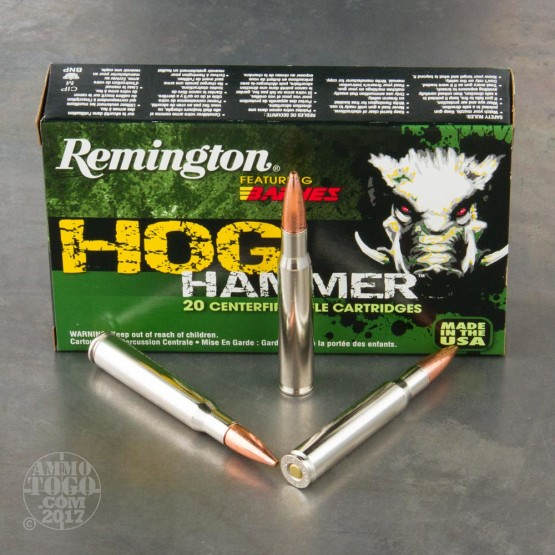 30 06 Ammo 20 Rounds Of 168 Grain Tsx By Remington