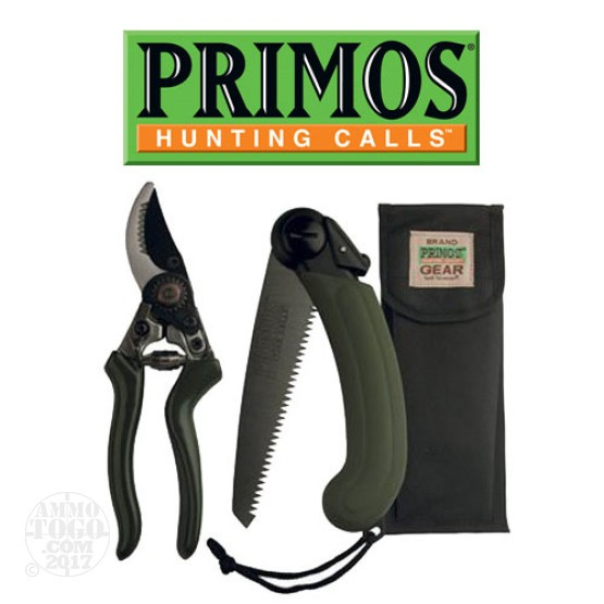 1 - Primos Cut Back Pack Compact Folding Saw and Bypass Pruner