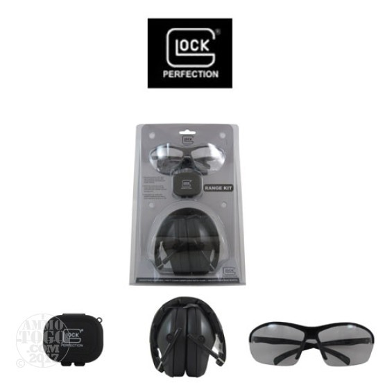 1 - Glock Eye and Ear Protection Range Kit Black