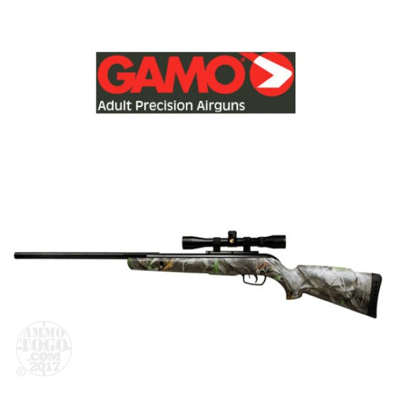 1 - Gamo Camo Rocket IGT Break Barrel .177 Cal. Rifle w/4x32 Scope