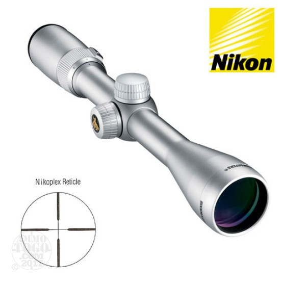 1 - Nikon Buckmasters 3-9x40 Silver Nikoplex Rifle Scope