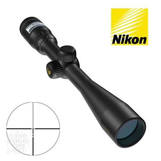 1 - Nikon Prostaff 4-12x40 BDC Reticle Matte Black Rifle Scope