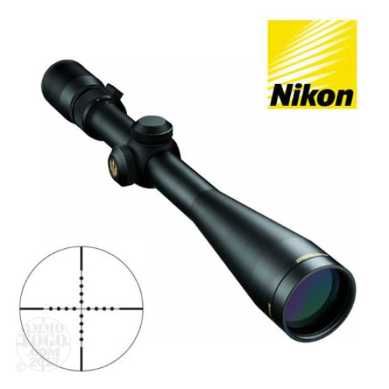 1 - Nikon Prostaff 4-12x40 Mildot Reticle Matte Black Rifle Scope