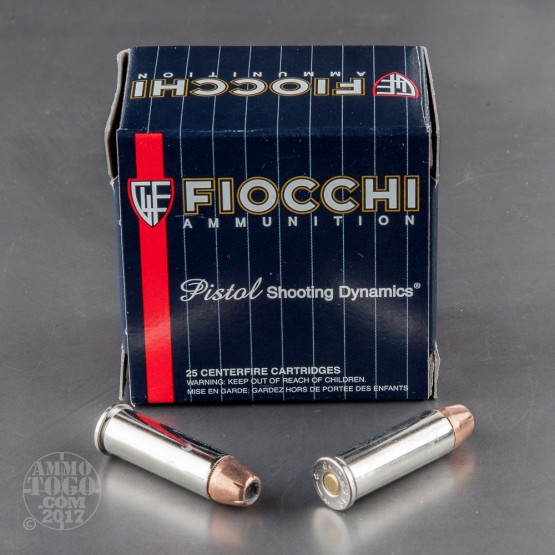 25rds - 38 Special Fiocchi 125gr XTP +P Hollow Point Ammo