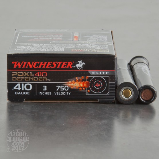 "10rds - 410 Gauge Winchester Supreme Elite 3"" PDX1 Self Defense Ammo"