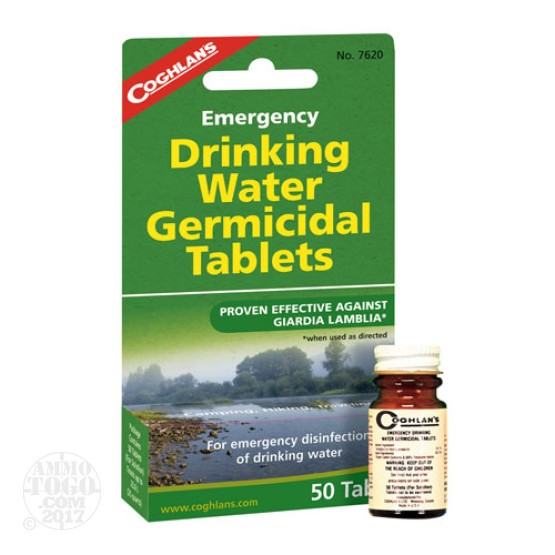 1 - Coghlan's Emergency Drinking Water Germicidal Tablets