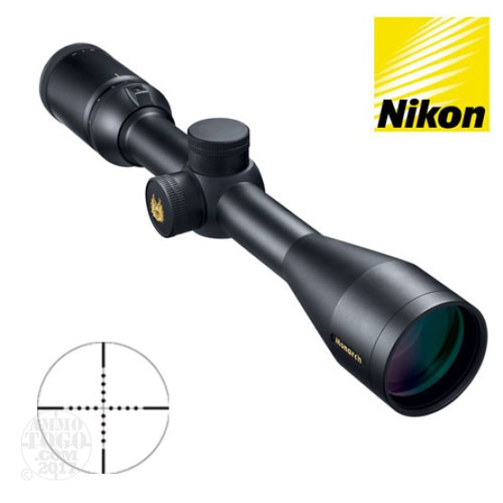 1 - Nikon Monarch 2.5-10X42 M Mildot Rifle Scope
