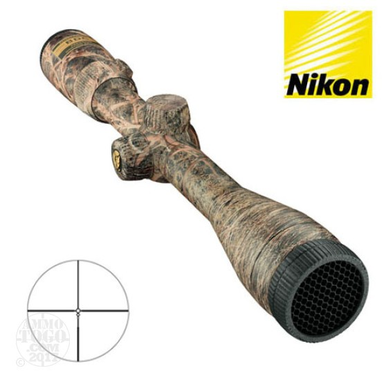 1 - Nikon Coyote Special 3-9x40 Brush BDC Rifle Scope