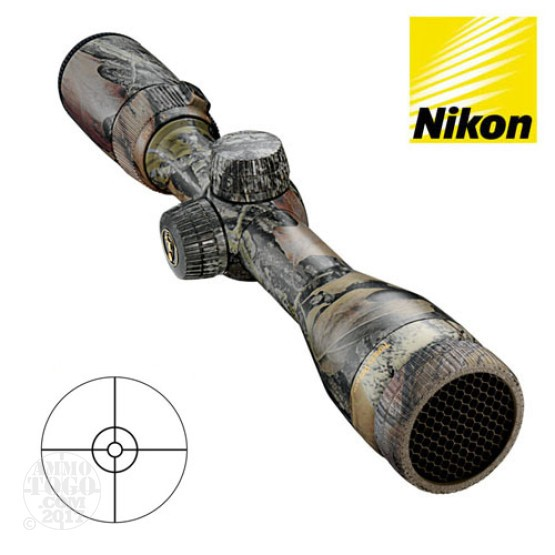 1 - Nikon Turkey Pro BTR 1.65-5x36 Camo Break Up BTR Rifle Scope