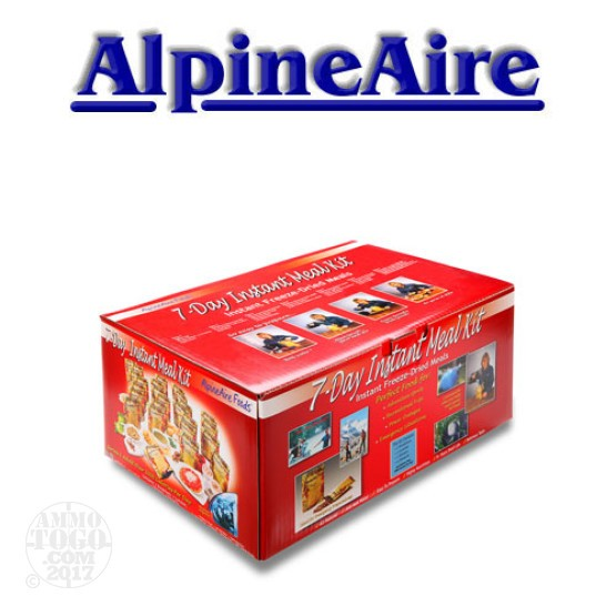 1 - AlpineAire Foods 7 Day Meal Kit (25 pouches)