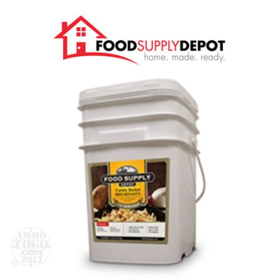 1 - Food Supply Depot Breakfast Variety Bucket 110 Servings