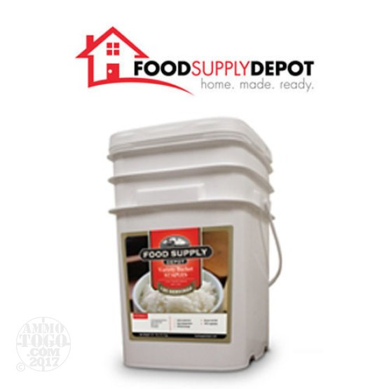 1 - Food Supply Depot Staples Variety Bucket 120 Servings