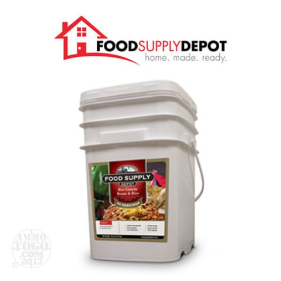 1 - Food Supply Depot Rio Grande Beans Bucket 60 Servings