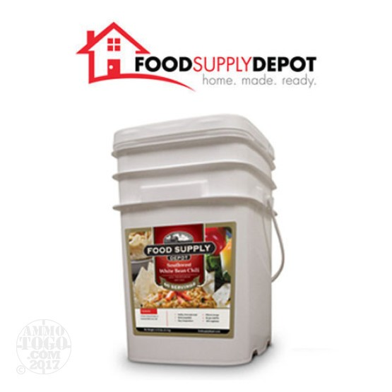 1 - Food Supply Depot Southwest White Bean Chili Bucket 60 Servings